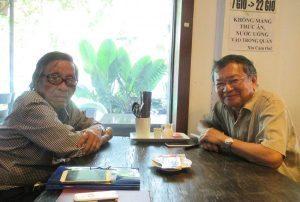 Trần Vấn Lệ và Đỗ Hồng Ngọc, gặp lại nhau sau 62 năm...